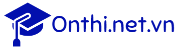 Onthi.net.vn | Ôn thi trực tuyến | Đề thi – đáp án