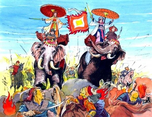 Lịch sử Hai Bà Trưng: Tiểu sử và cuộc khởi nghĩa chống quân Nam Hán