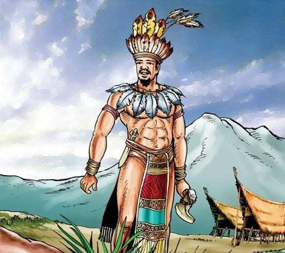 Kinh Dương Vương lấy con gái của Động Đình Quân là Thần Long, sinh ra Lạc Long Quân