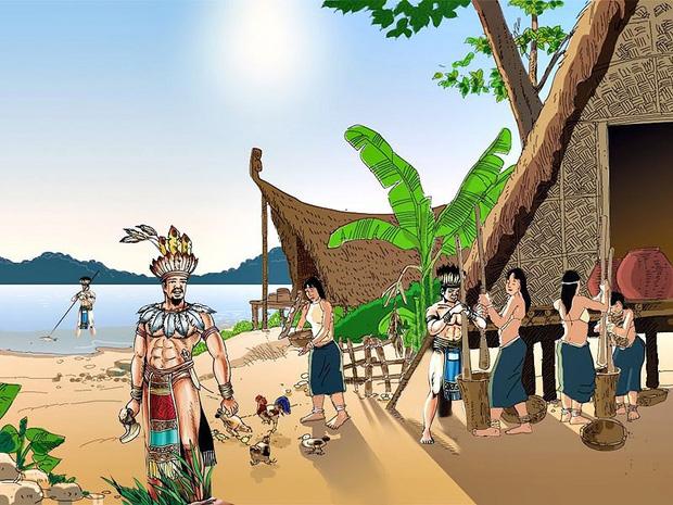 Hùng Vương là tên của một chức danh, hình thành do phiên ám một từ Việt cổ nào đó