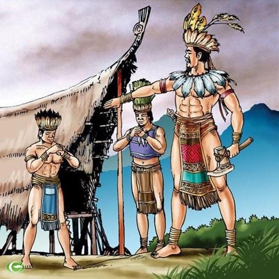 các vua hùng đã có công dựng nước